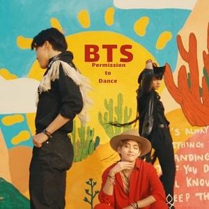 موزیک ویدیو BTS - Permission to Dance با زیرنویس