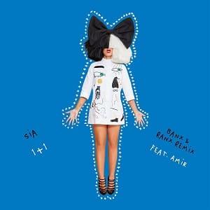 لیریک ویدیو Sia - 1+1 (feat. Amir) (Banx Ranx Remix) با زیرنویس