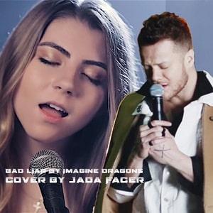 موزیک ویدیو BAD LIAR by Imagine Dragons - cover by Jada Facer با زیرنویس