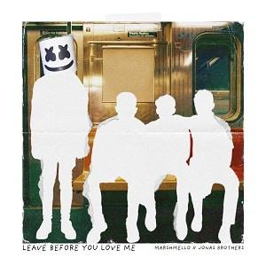 موزیک ویدیو Marshmello x Jonas Brothers - Leave Before You Love Me با زیرنویس