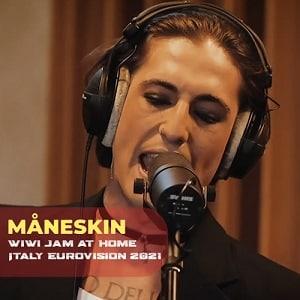 اجرای زنده Maneskin (Italy Eurovision 2021) I Wanna Be Your Slave & Zitti E Buoni(Wiwi Jam at Home) با زیرنویس