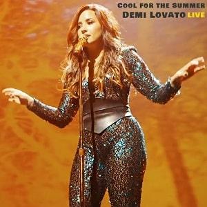 اجرای زنده دمی لواتو Demi Lovato - Cool For The Summer با زیرنویس