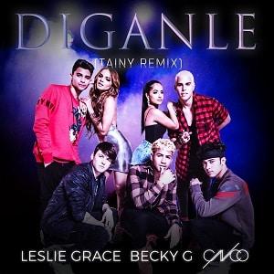 موزیک ویدیو Leslie Grace & Becky G & CNCO - Diganle با زیرنویس